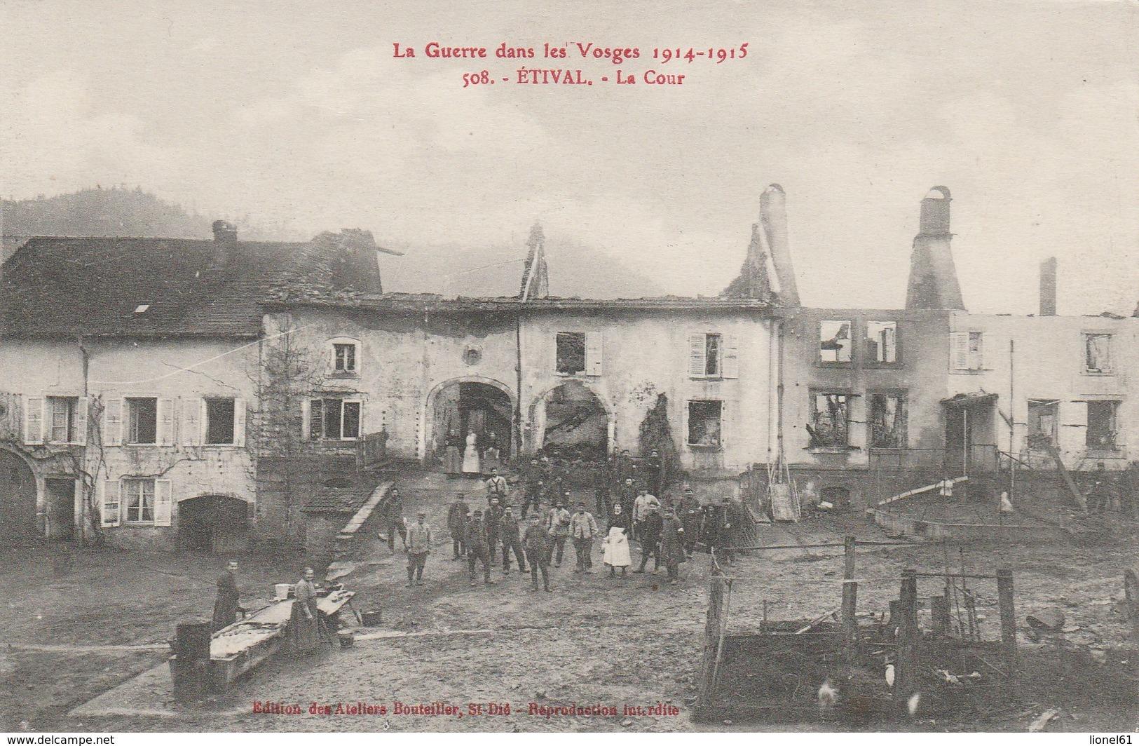 ETIVAL : (88) La Cour - Etival Clairefontaine