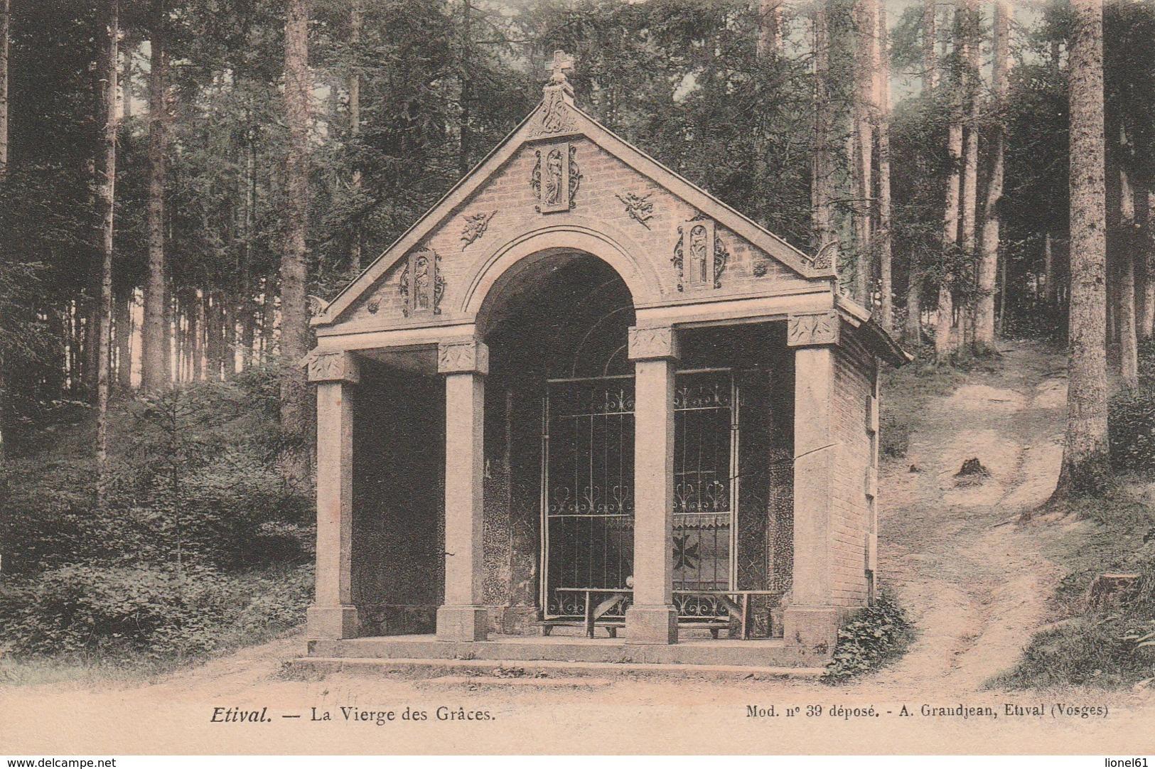 ETIVAL : (88)  La Vierge Des Grâces - Etival Clairefontaine