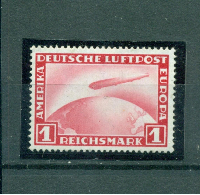 Deutsches Reich, Zeppelin über Weltkugel, 455 Falz * - Deutschland
