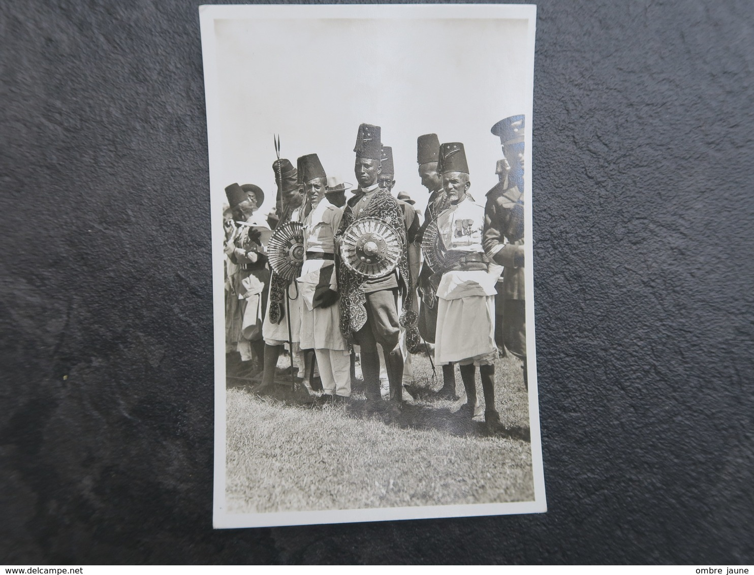 IT - ERYTHREE - ERITREA ITALIANA - ASCARI PRONTI PERLA FANTASIA  - CARTE PHOTO GUERRIERS ASCAR - Eritrea