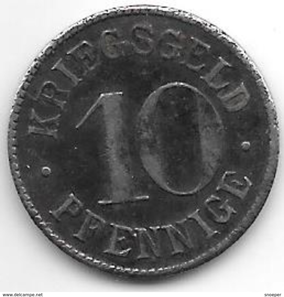 Notgeld Heidelberg 10 Pfennig  ND Fe 6154.1 / F203.3b - [ 2] 1871-1918 : Empire Allemand