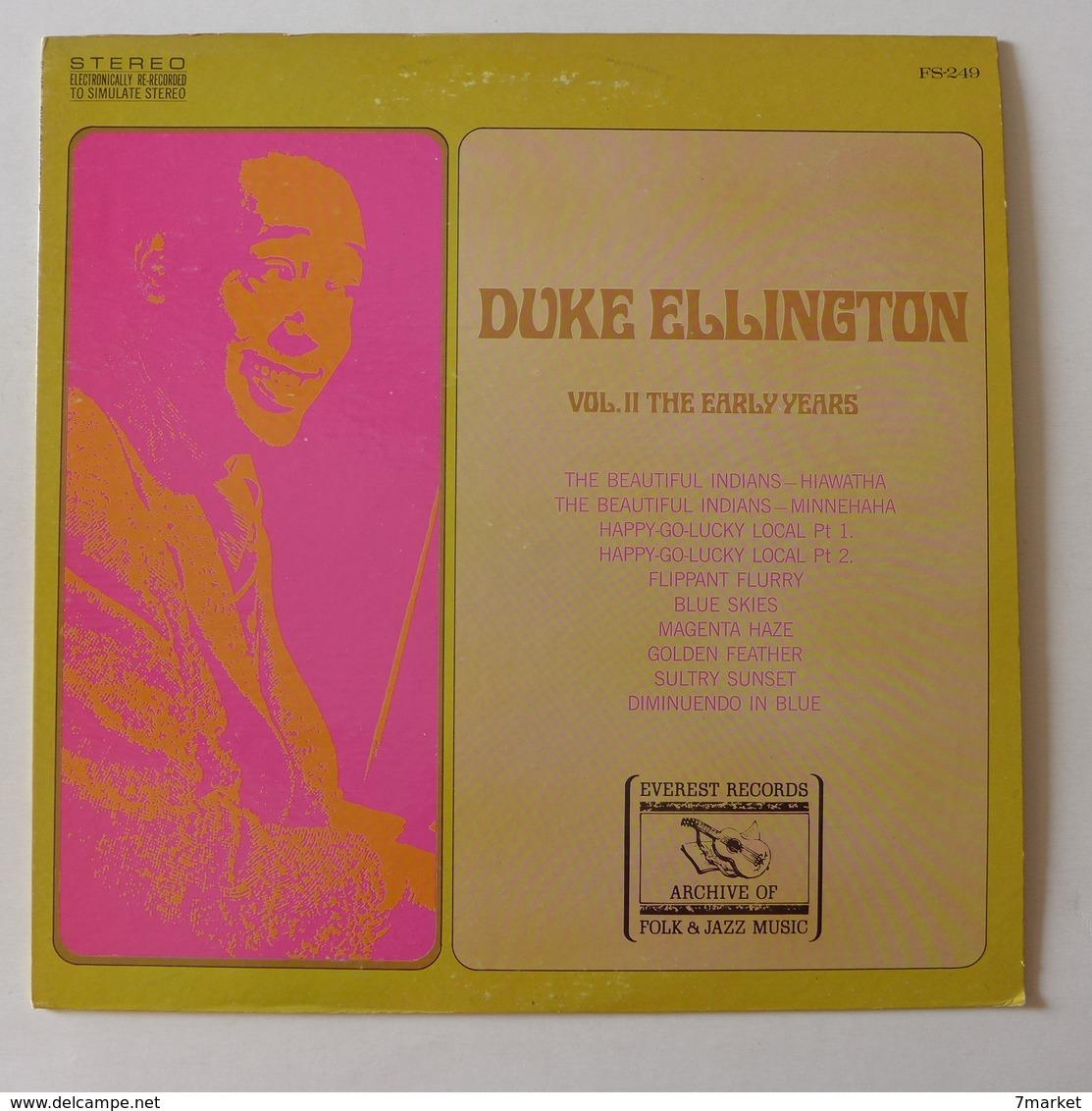 LP/   Duke Ellington Volume II. The Early Years / Label  Everest Records, Pressage US - Jazz