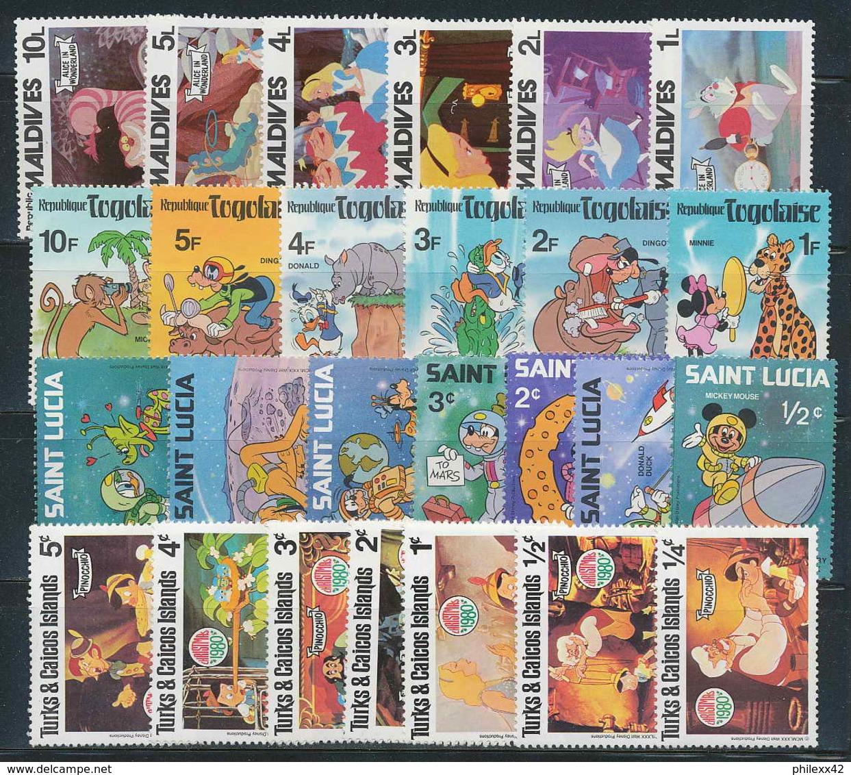 1000 - DISNEY 4 BONNES SérieS NEUFS ** PARFAIT ETAT MNH ** - Disney
