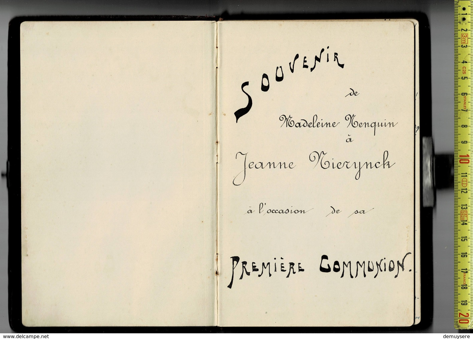 20107 - LIVRE 2 - SOUVENIR DE MADELEINE NENQUIN 1923 - Culture
