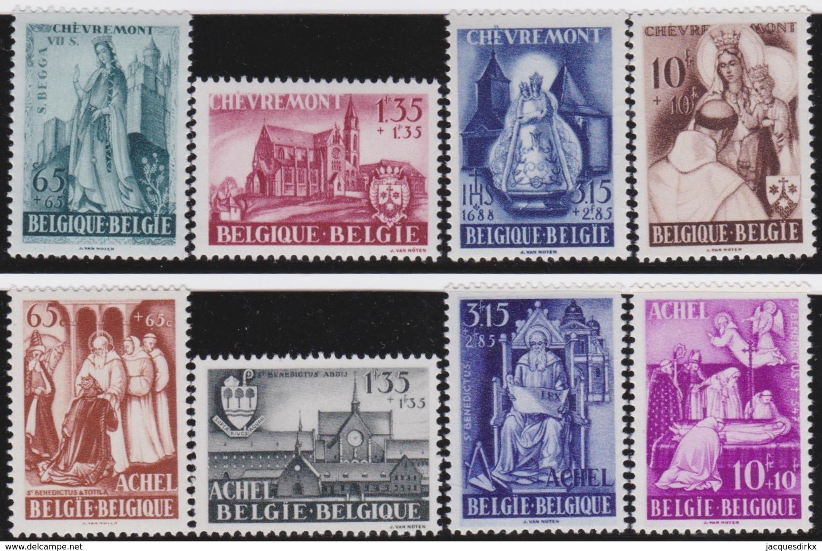 Belgie    .  OBP    .     773/780      .     **     .     Postfris   .   /   .  Neuf SANS Charniere - Neufs
