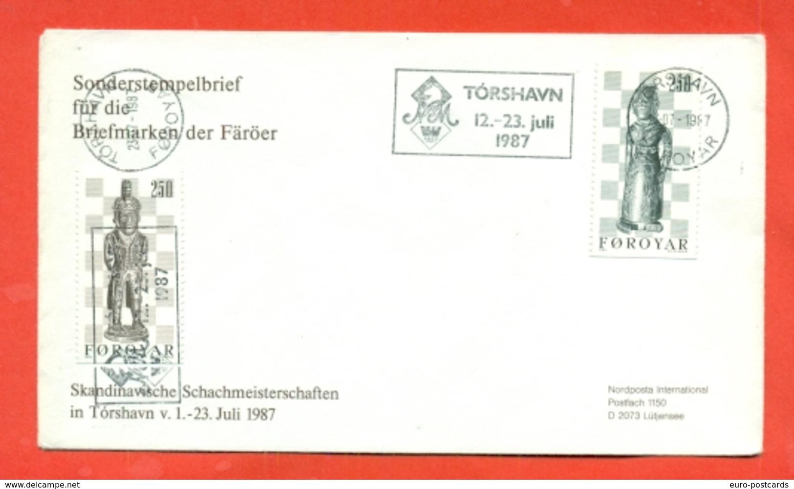 SCACCHI - FOROYAR -1987 - Schaken