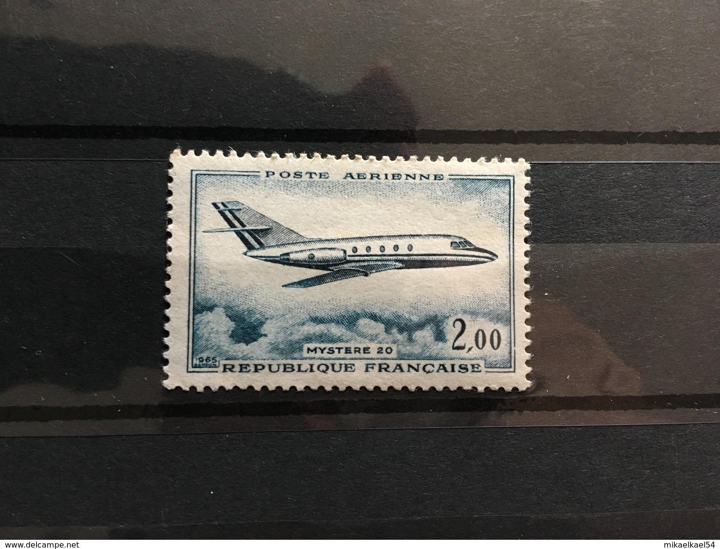 FRANCE Poste Aérienne 1965 - YT N° 42 - Timbre Neuf Sans Charnière - Poste Aérienne