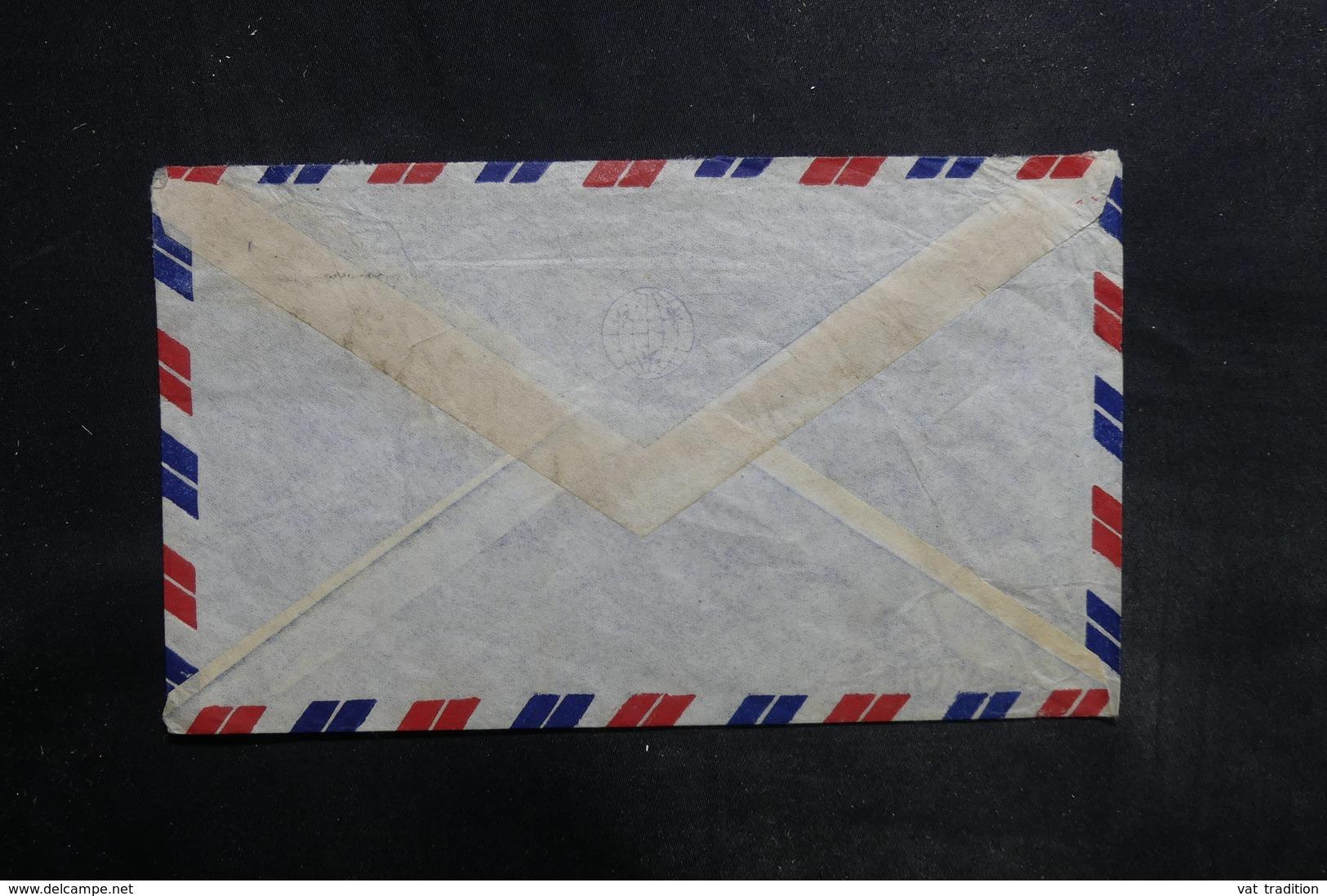 SIAM - Enveloppe Commerciale De Bangkok Pour La France En 1948 , Affranchissement Plaisant - L 35745 - Siam