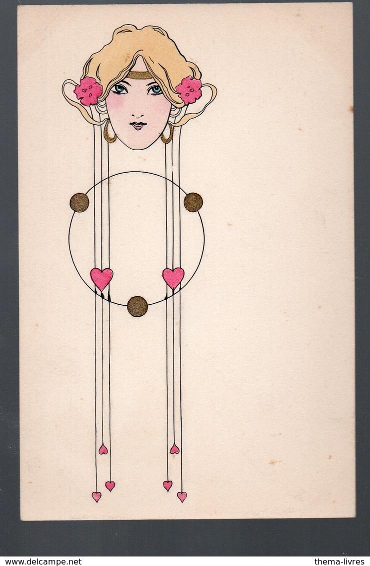 Carte Postale ART NOUVEAU VIENNOIS  (non Signée) BRW411   (PPP19149) - 1900-1949