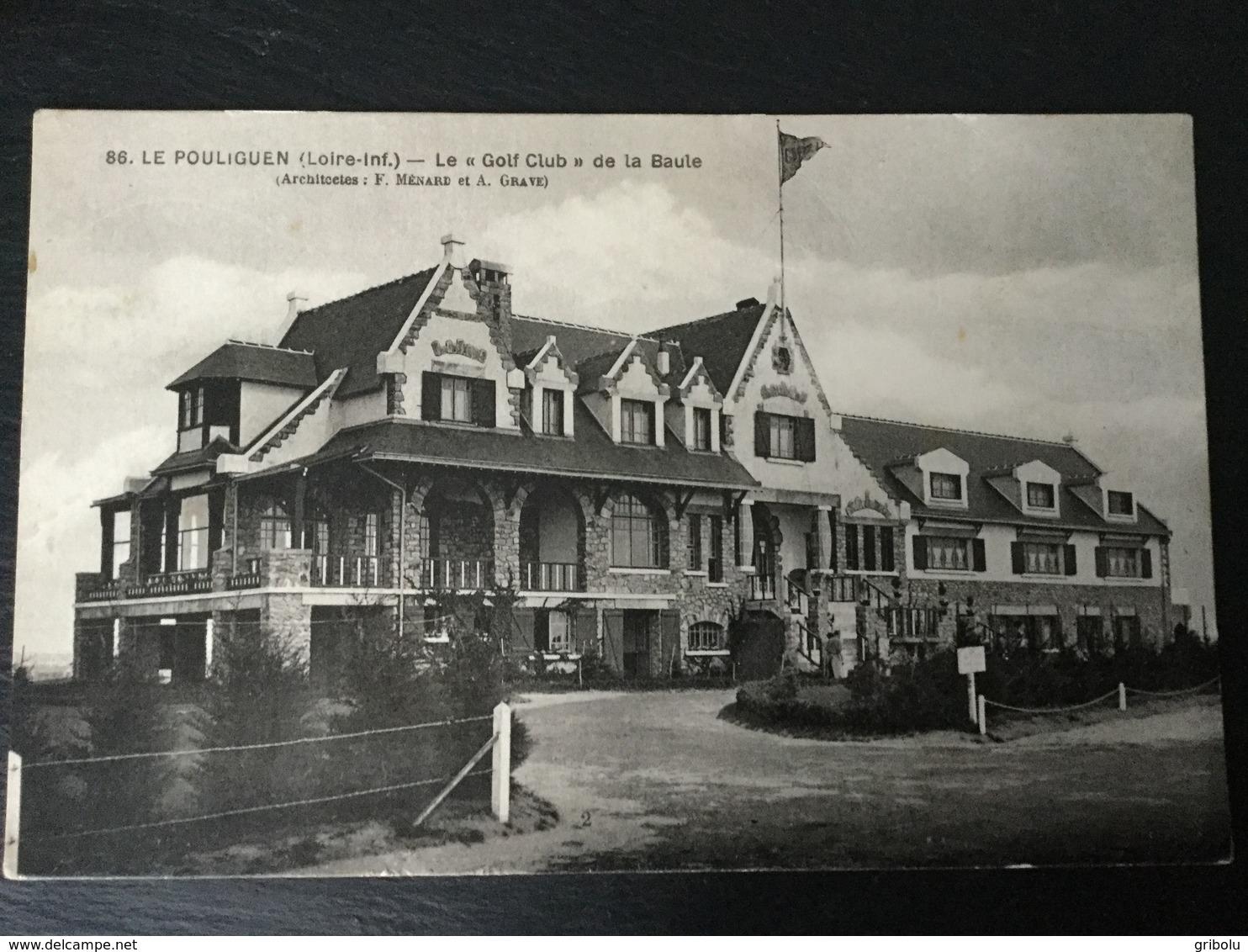 LE POULIGUEN - Le Golf Club De La Baule - Le Pouliguen