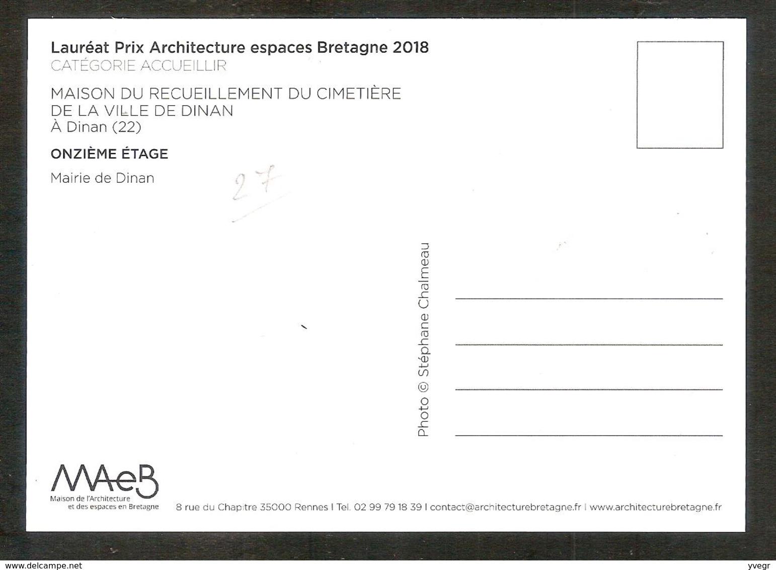 - Maison De Recueillement Du Cimetière De La Ville De Dinan ( 22 Côte D'Armor ) - Dinan