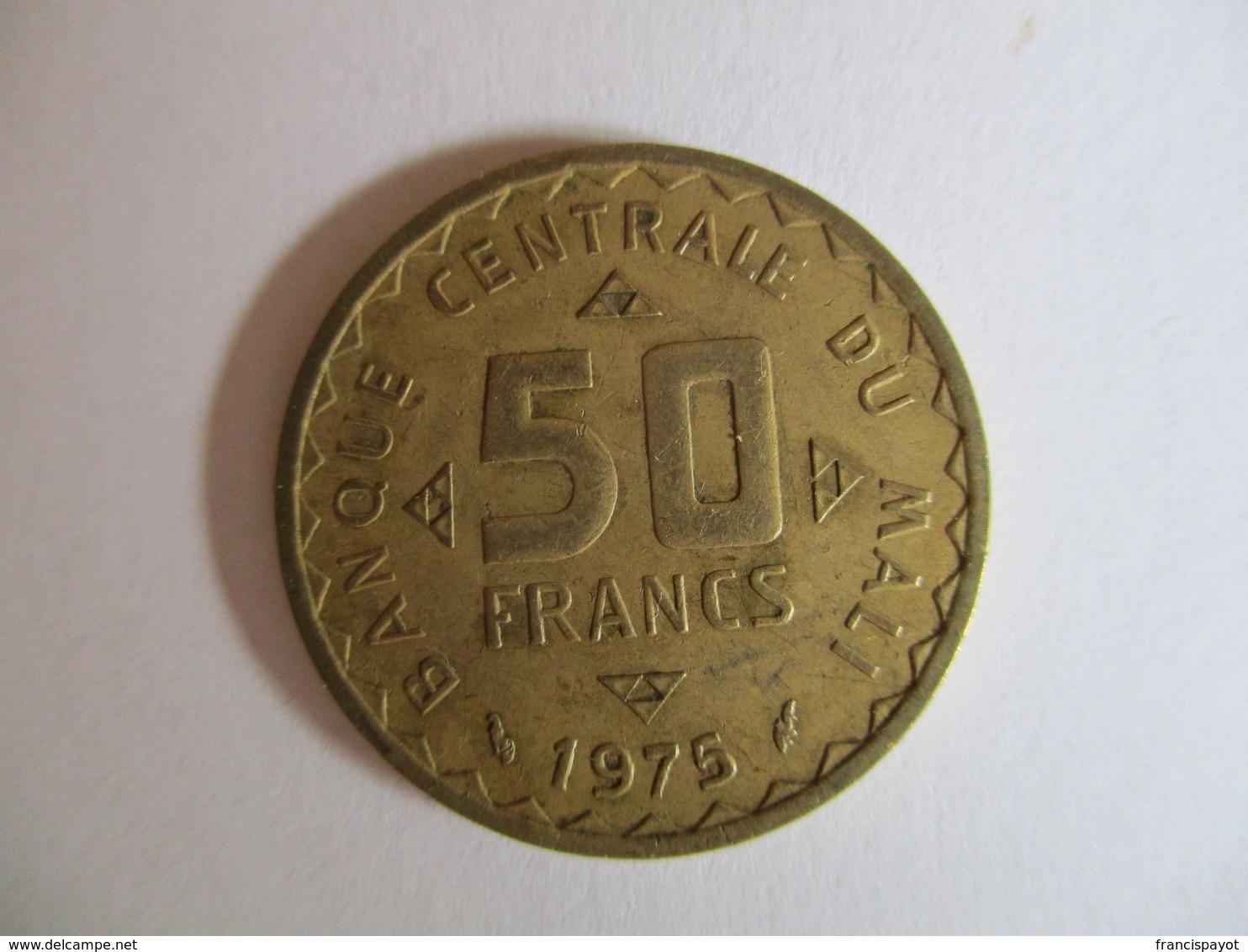 Mali: 50 Francs 1975 - Mali (1962-1984)