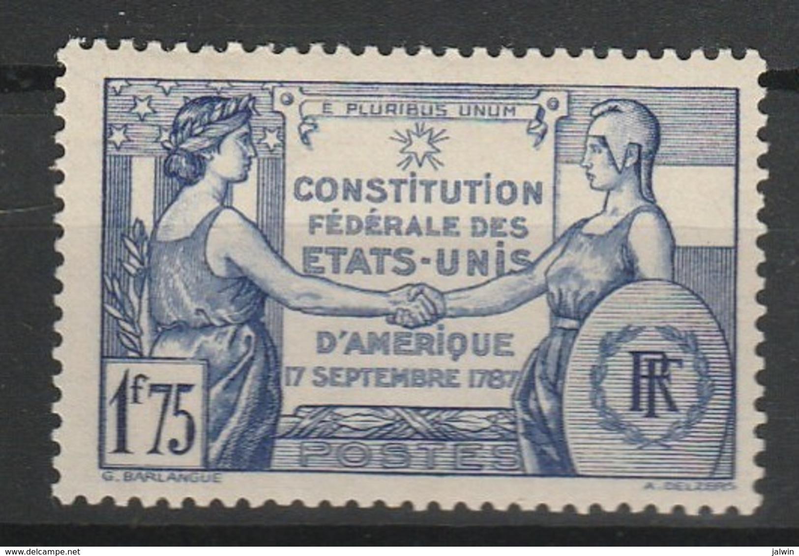 FRANCE 1937 YT N° 357 * - Unused Stamps