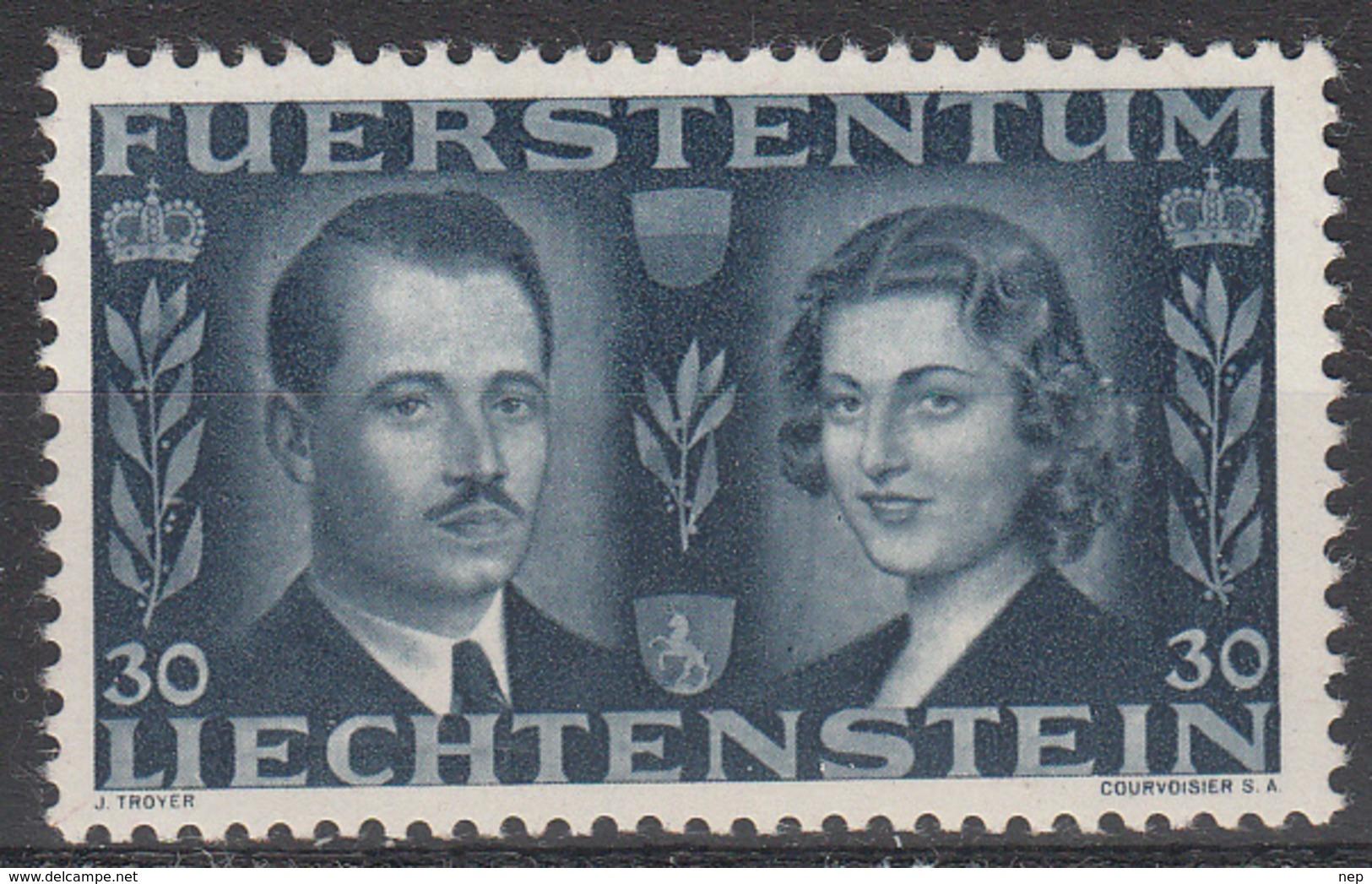 LIECHTENSTEIN - Michel - 1943 - Nr 213 - MH* - Liechtenstein