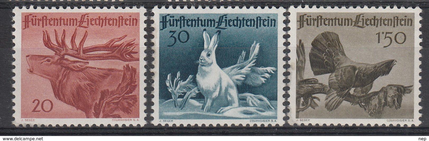 LIECHTENSTEIN - Michel - 1946 - Nr 249/51 (MOOI) - MH* - Liechtenstein