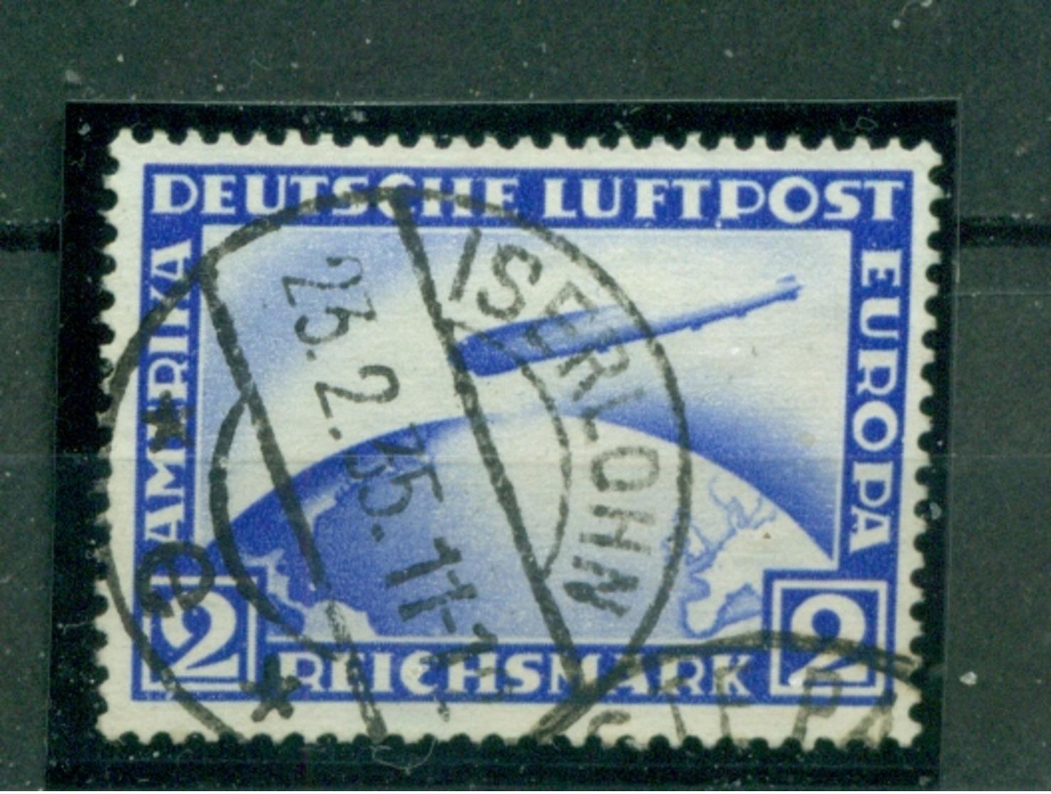 Deutsches Reich, Zeppelin über Weltkugel  Nr 423 Gestempelt - Deutschland