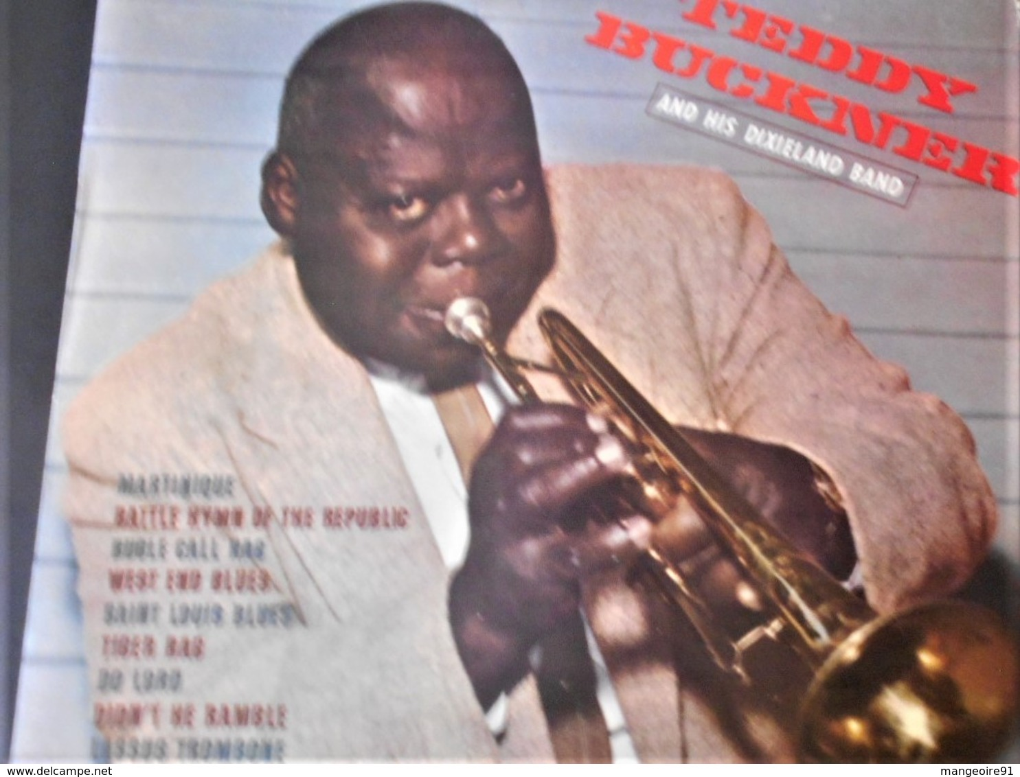 Disque 33 Tours Teddy Buckner And His Dixieland Band - Jazz