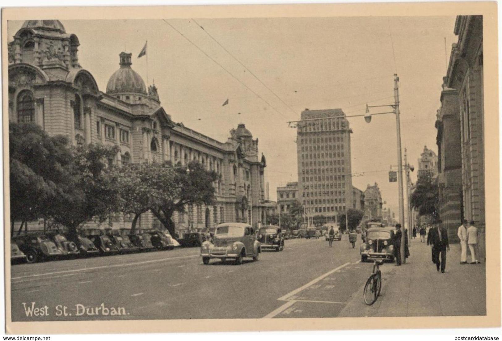 West St. Durban - & Old Cars - Sudáfrica