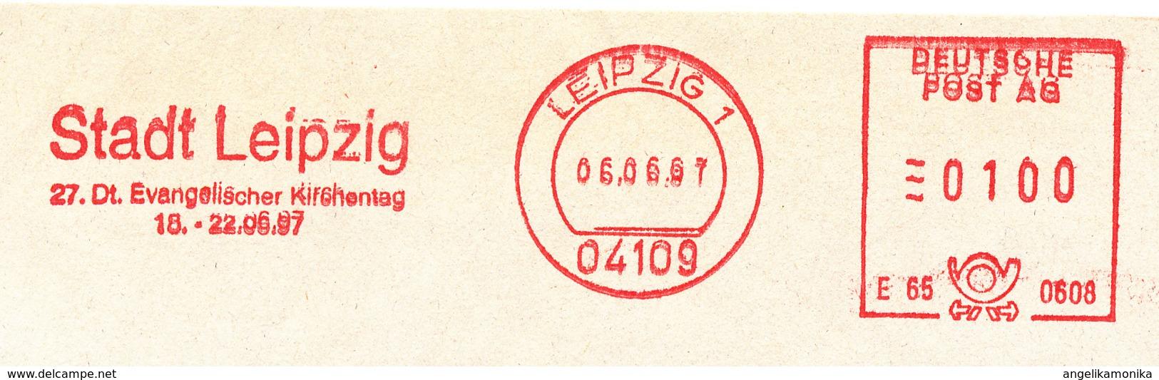 Freistempel 2191 Evangelischer Kirchentag Leipzig - Machine Stamps (ATM)