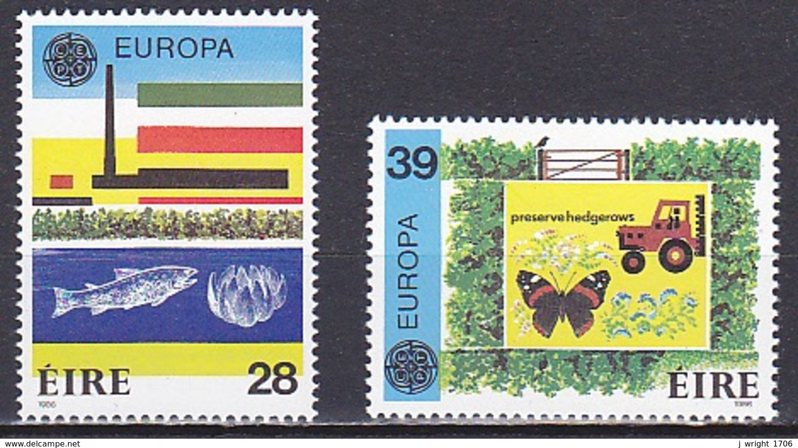 Ireland/1986 - Europa CEPT - Set - MNH - 1949-... Republic Of Ireland
