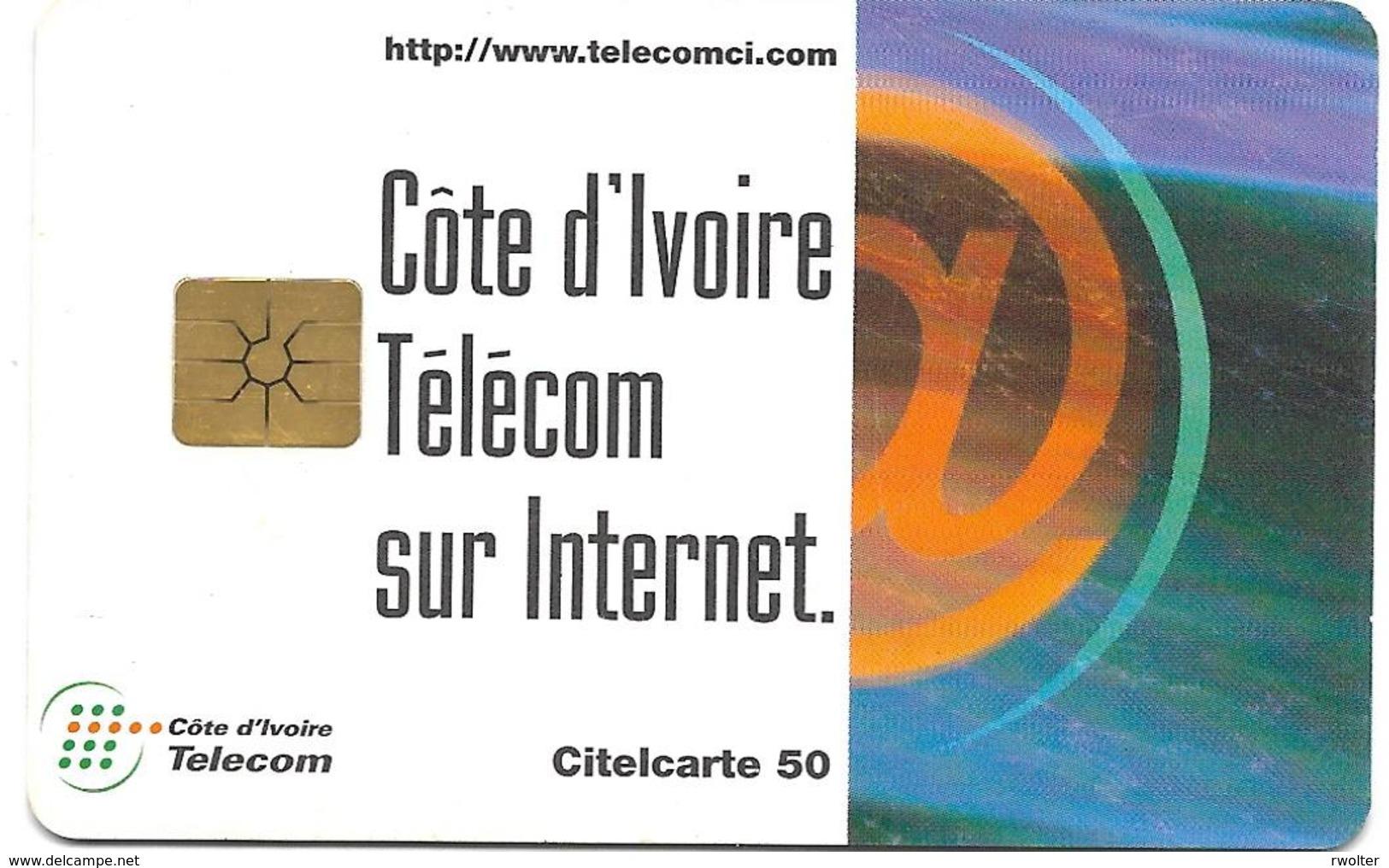 @+  Cote D'Ivoire - Citelcarte - Télécom Sur Internet (Gem1B) - Côte D'Ivoire