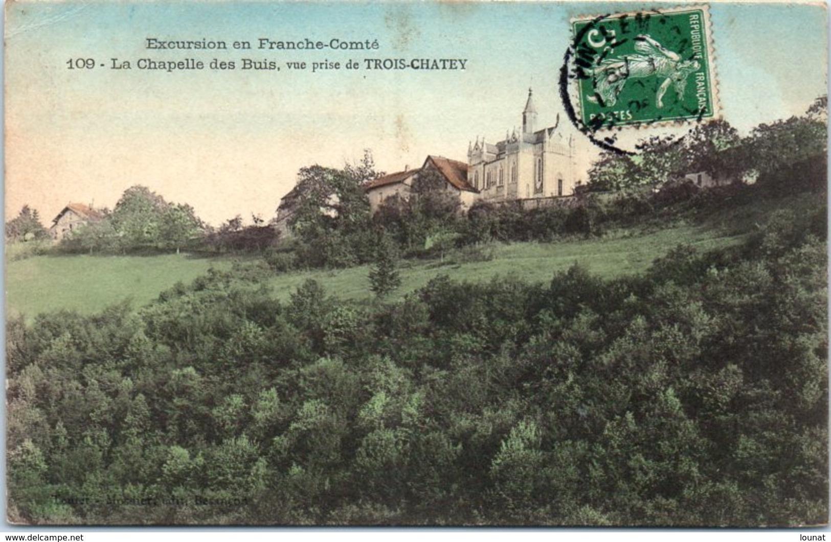 25 La Chapelle Des Buis, Vue Prise De TROIS CHATEY (couleur) - Other Municipalities