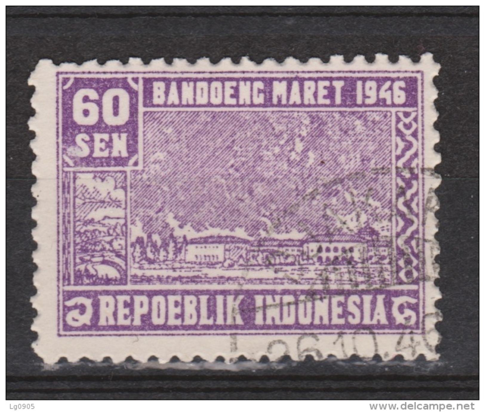 Indonesia Indonesie JAVA And MADOERA Nr. 35 Used ; Japanese Occupation Japanse Bezetting - Indonesië