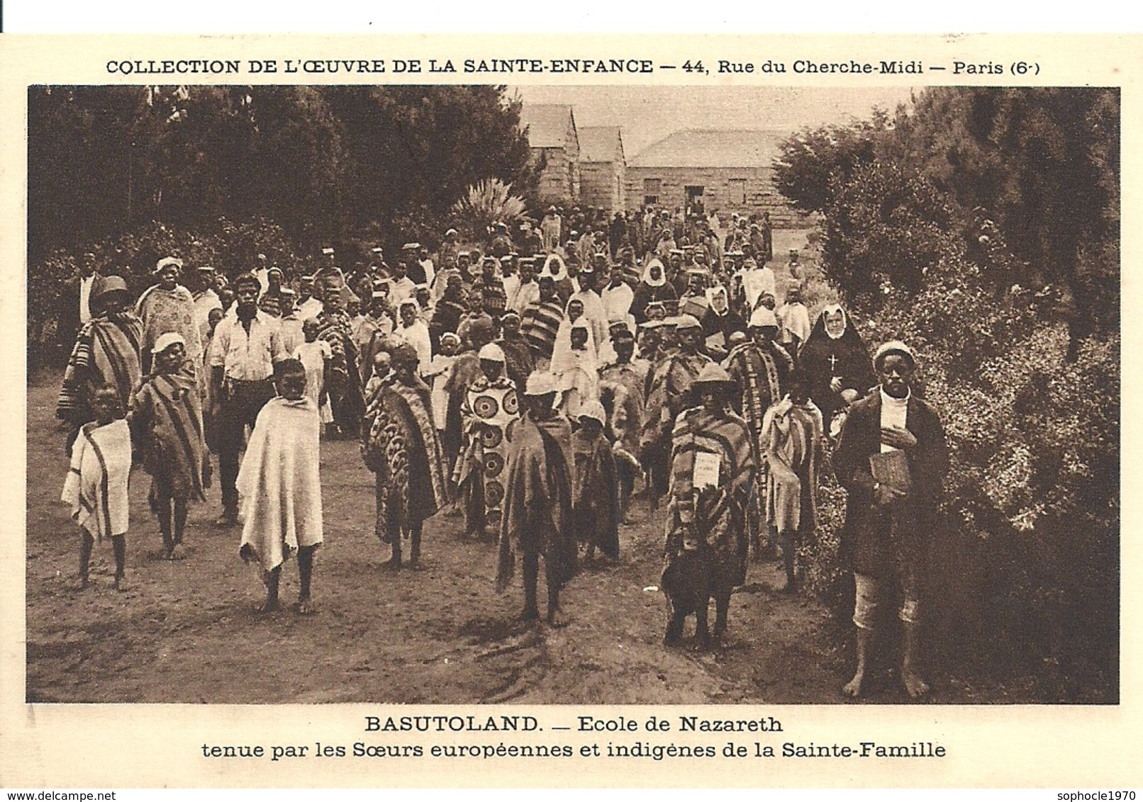 AFRIQUE - LESOYHO - BASUTOLAND - Ecole De Nazareth - Soeur Européennes Et Indigènes - Lesotho