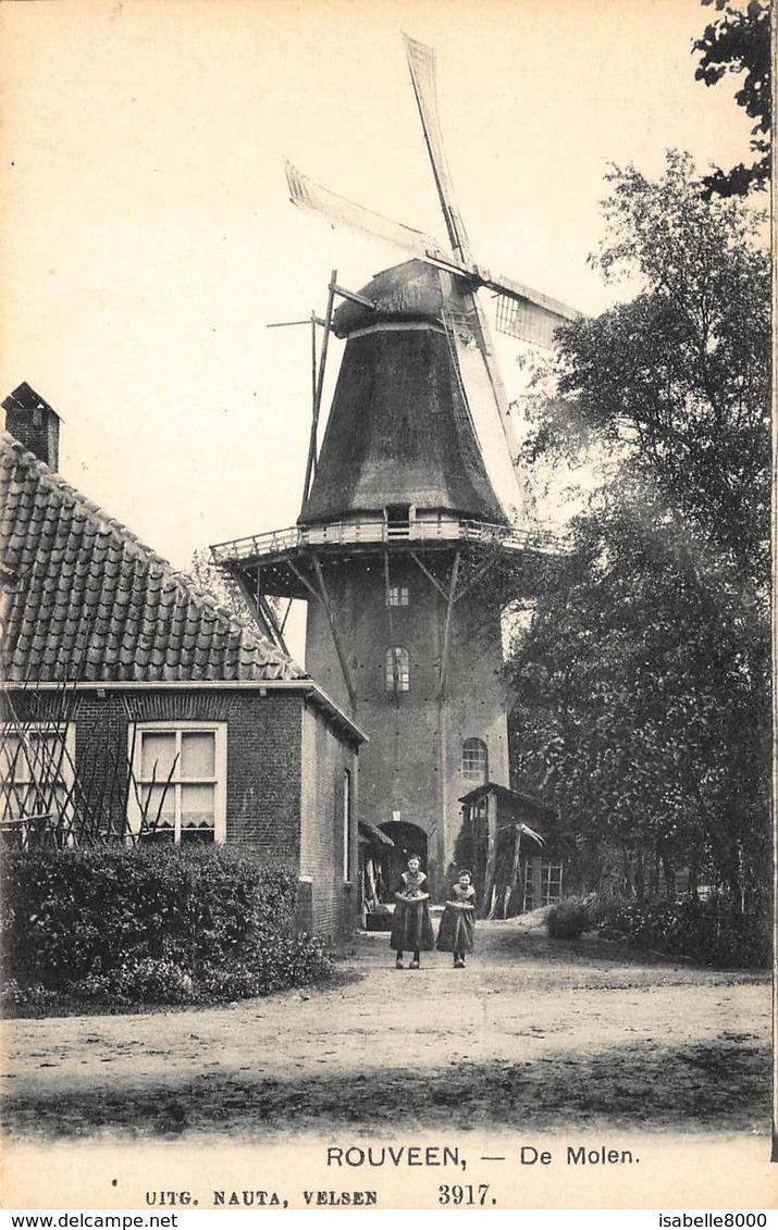 Windmolen Molen   Rouveen Staphorst De Molen Uitgever Nauta Velsen        K 25 - Windmühlen