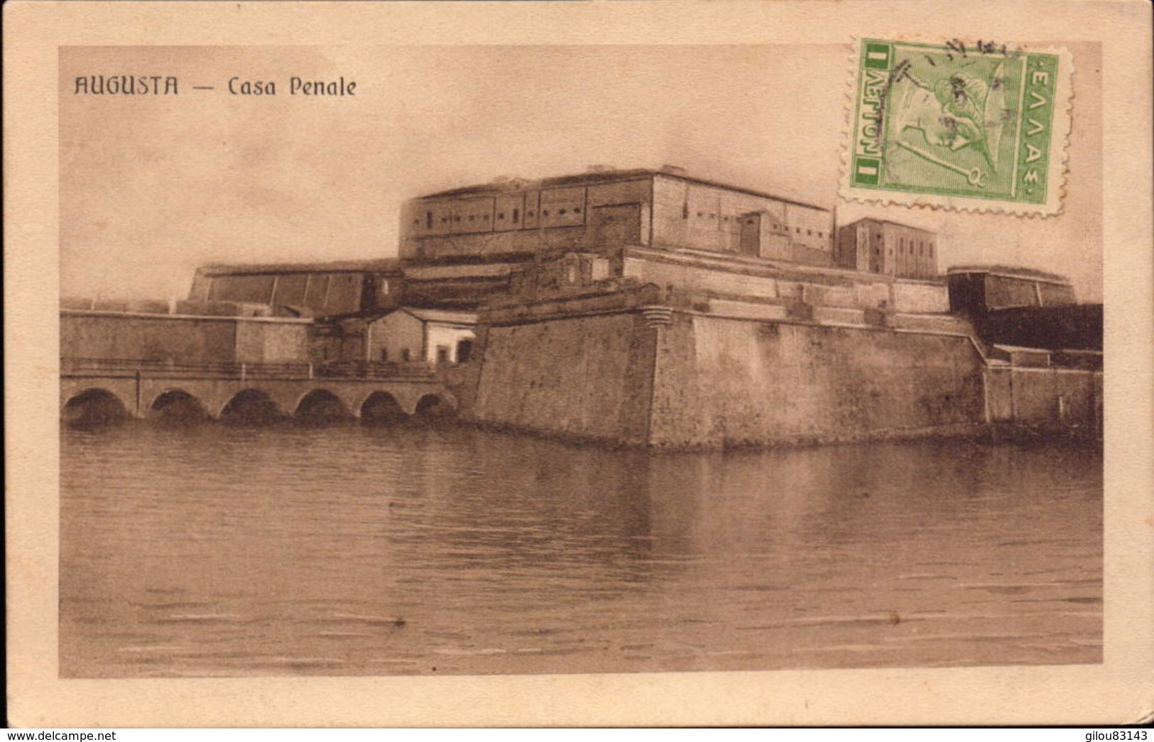 Italie, Sicile, Augusta, Casa Penale       (bon Etat) - Otras Ciudades