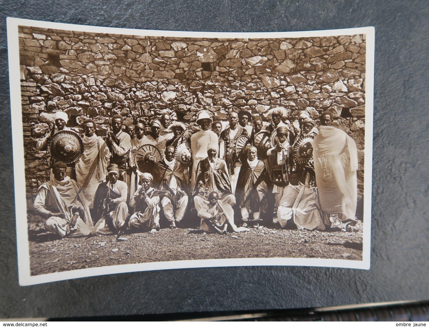 IT  - ERYTHREE - ERITREA - Un Capo Coi Suoi Armati - Un Chef Avec Ses Hommes Armés - Eritrea