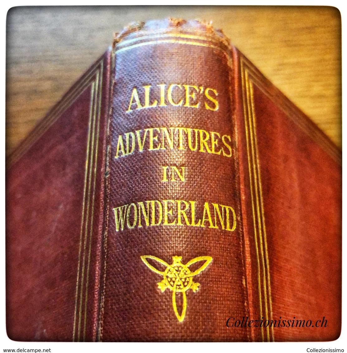 Alice's Adventures In Wonderland, Lewis Carroll, 1872 Twenty-ninth Thousand - Oude Boeken