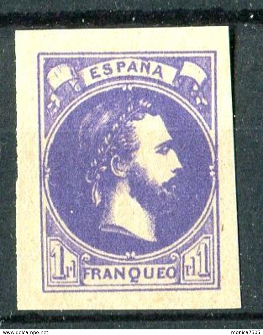"""ESPAGNE ( PROVINCES BASQUES ET NAVARRE ) : Y&T N°  2 """" FAUX  ? """" TIMBRE  NEUF  SANS  GOMME . - 1873 1ª República"""