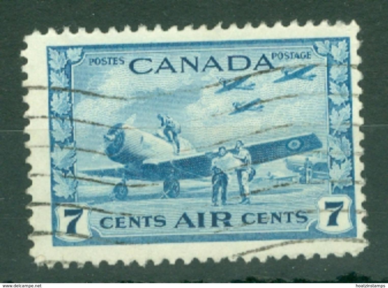 Canada: 1942/48   War Effort - Air   SG400    7c     Used - 1937-1952 Règne De George VI