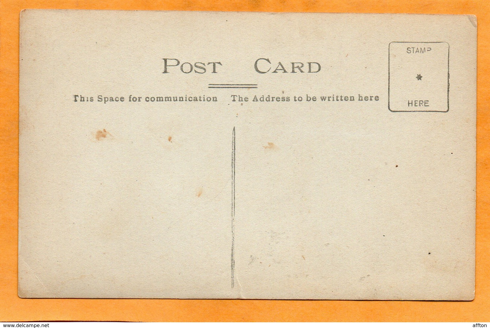 Stockbridge UK 1908 Real Photo Postcard - Other