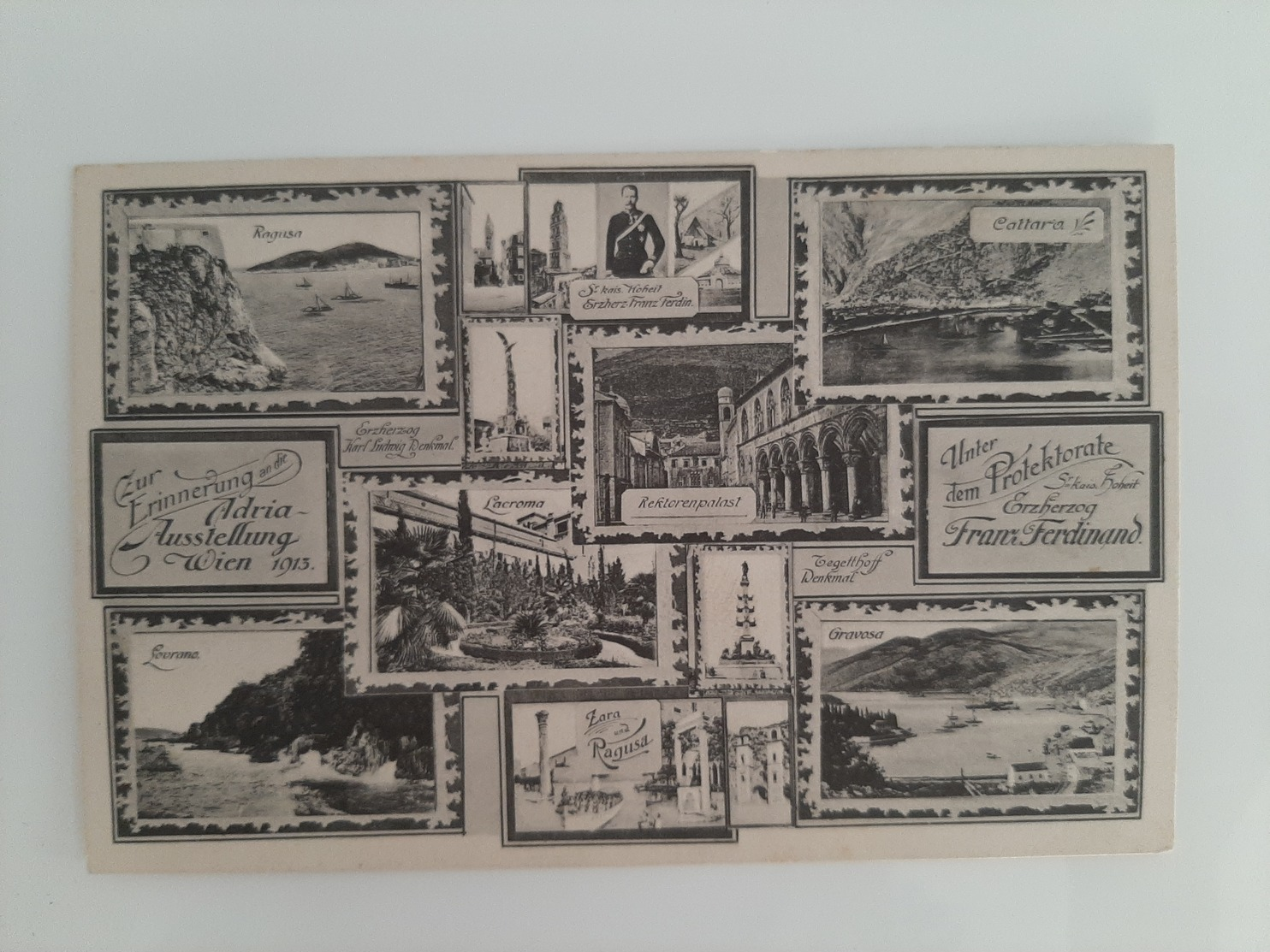 Adria Ausstellung - Franz Ferdinand - Dalmazia - Istria - Zara - Lovrana- Capodistia - Ragusa - Spalato - 1913. - Croatia