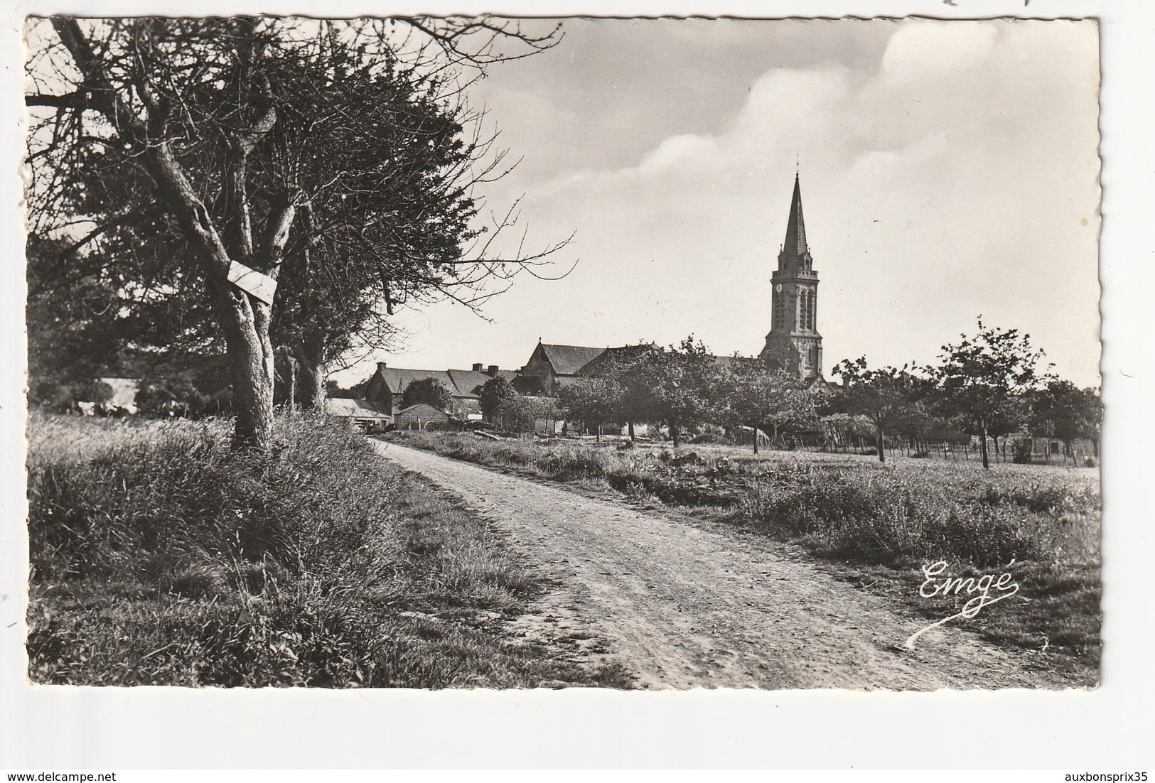 CPSM - ROZ LANDRIEUX - VUE GENERALE - 35 - Autres Communes