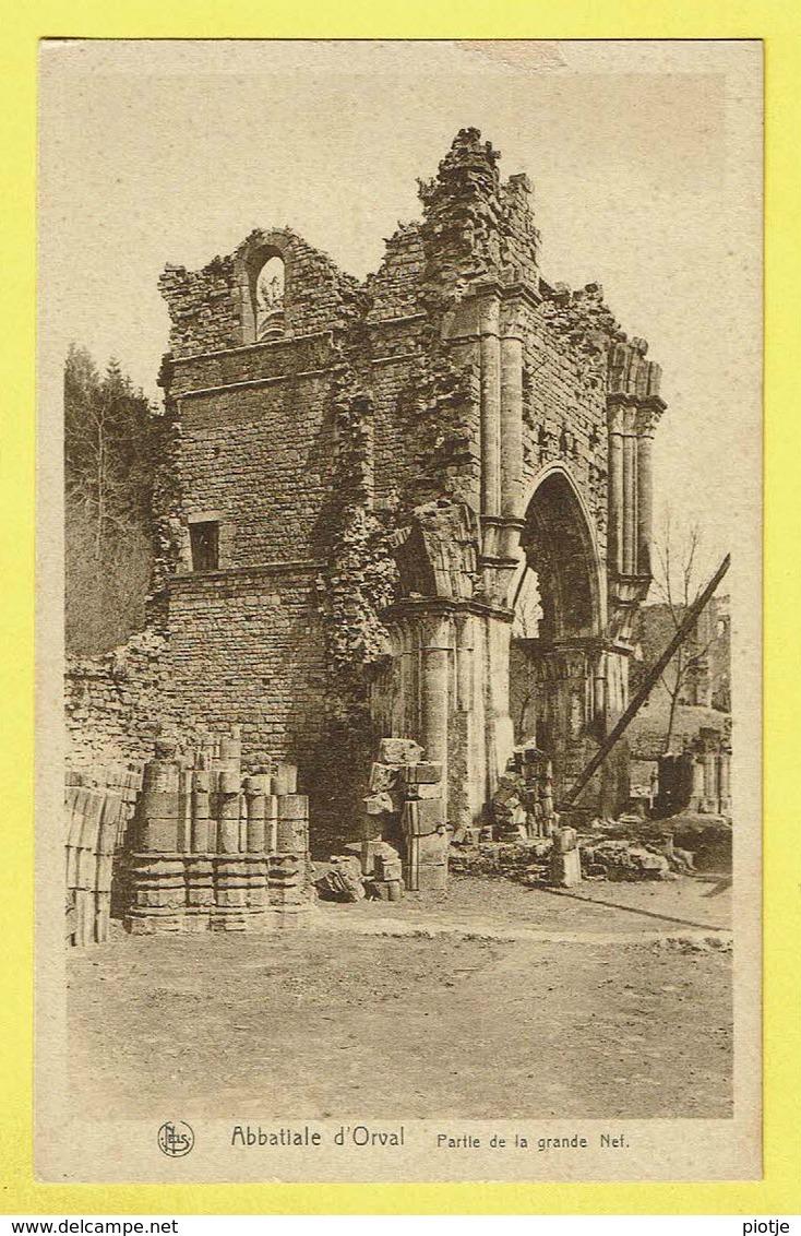 * Orval (Florenville - Luxembourg - La Wallonie) * (Nels, Ern Thill) Abbaye D'Orval, Abbatiale, Partie Grande Nef, Ruine - Florenville