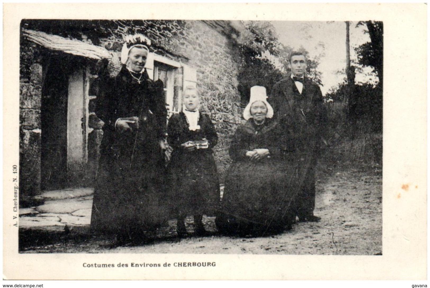 50 CHERBOURG - Costumes Des Environs De Cherbourg - Cherbourg