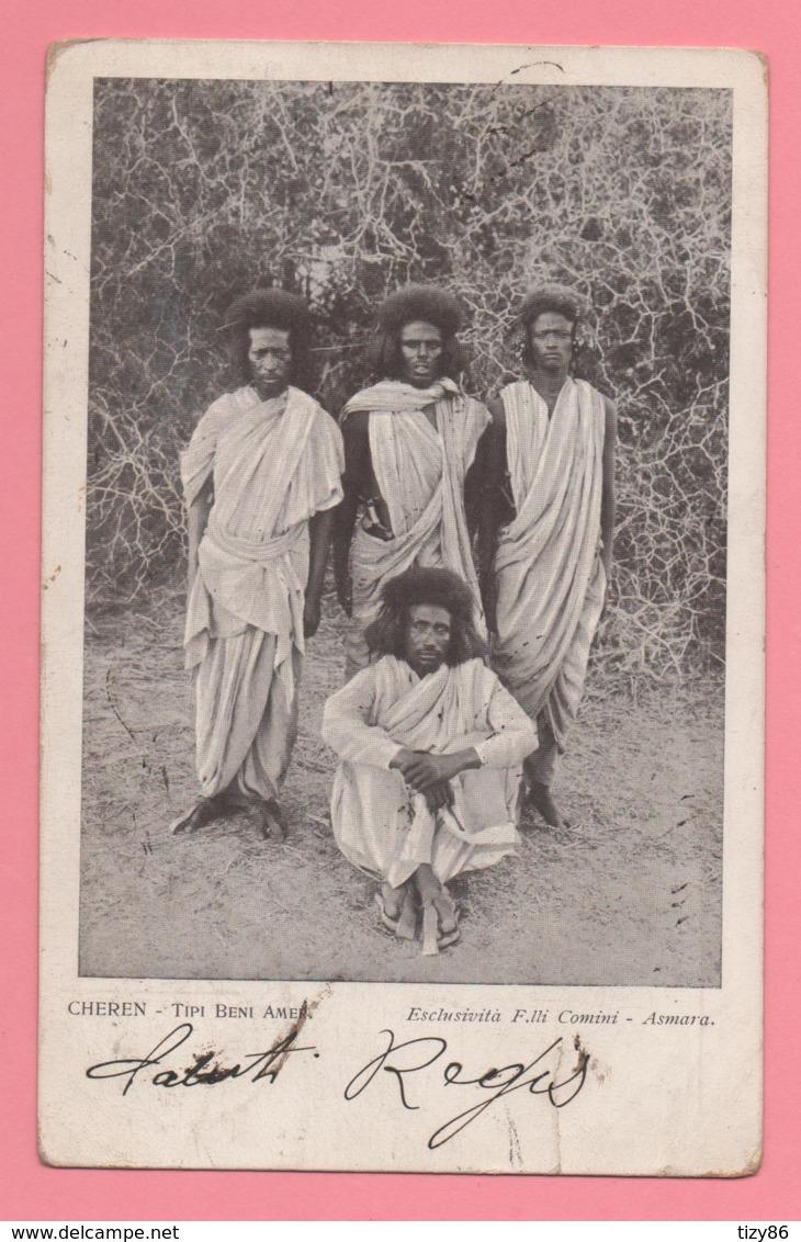 Cheren - Tipi Beni Amer. Esclusività F.lli Comini - Asmara - Eritrea