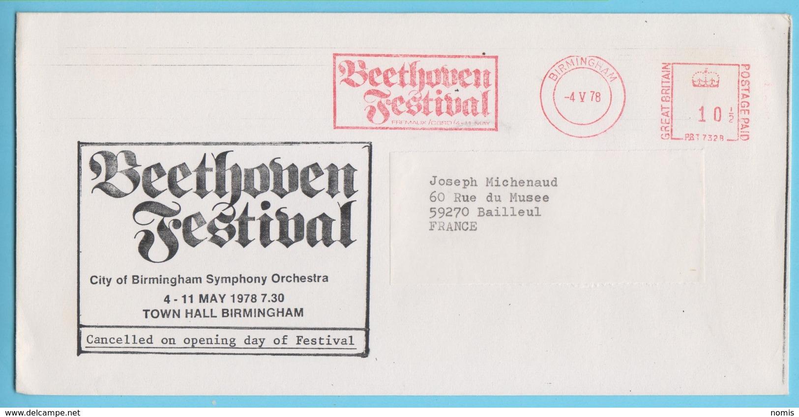 J.M. 28 - EMA - Grande Bretagne - 13 - Festival Beethoven - Compositeur - Musik