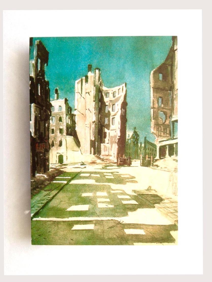 Berlin Détruit Les Bâtiments 1976 Deineka - Allemagne