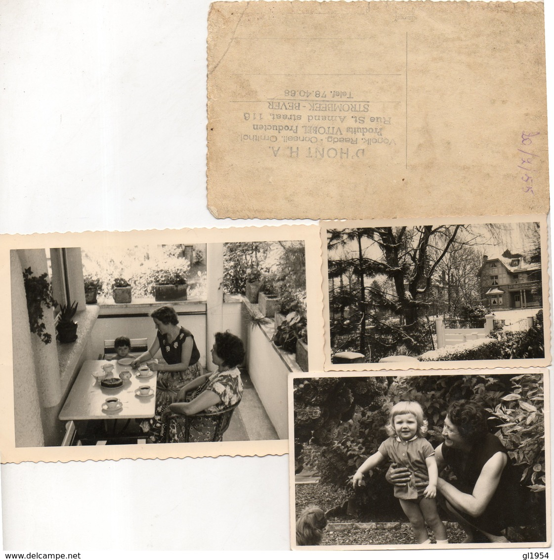 KOMEN UIT  ALBUM  HENRI D' HONT    ( VOGELKENER EN RAADGEVER TE STROMBEEK ) GEBOOREN IN IZEGEM 1908 - Photographs