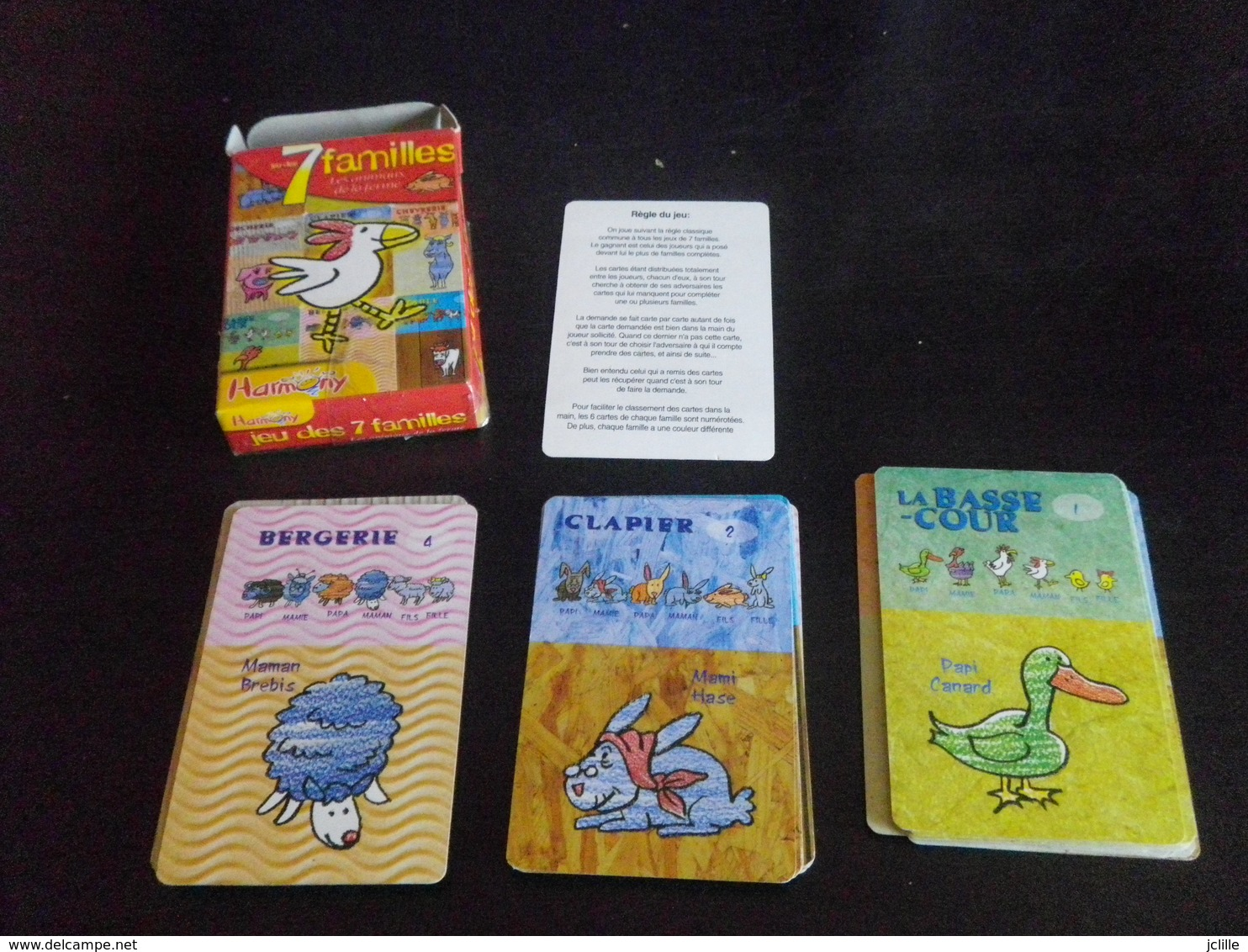 Jeu De 7 Familles - FERME - Speelkaarten