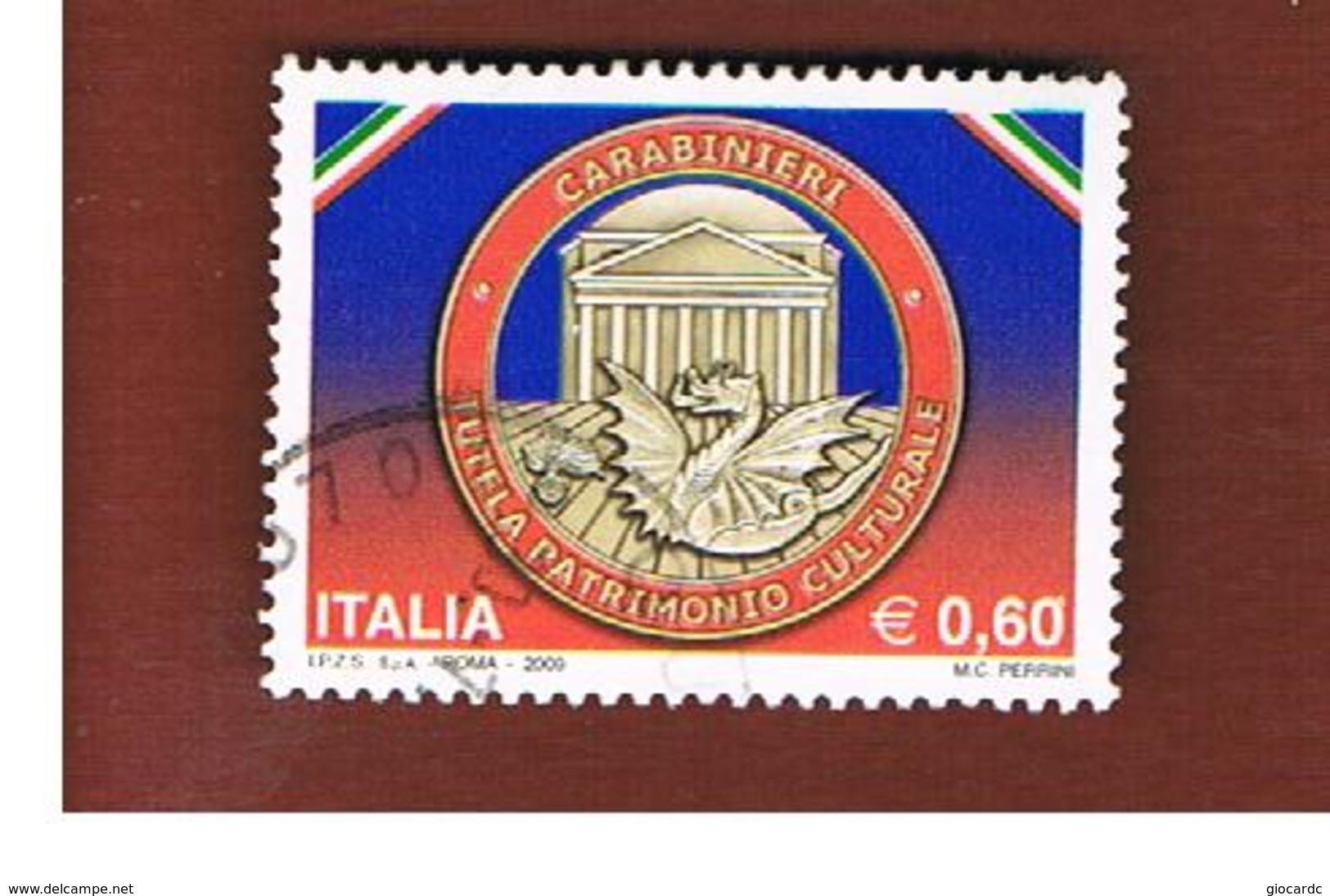 ITALIA REPUBBLICA  -   2009   CARABINIERI    -   USATO  ° - 6. 1946-.. Repubblica