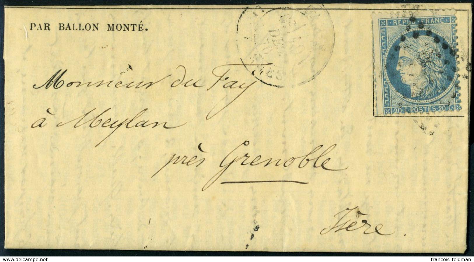 Lettre LE GENERAL RENAULT, Gazette Des Absents N° 15, Càd Paris Les Ternes 10 Déc 70 Pour Meylan Près Grenoble, TB - Stamps