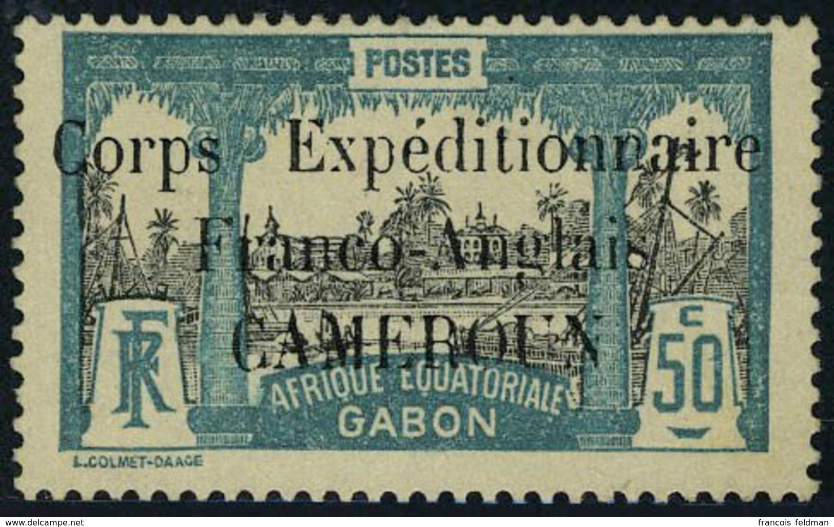 Neuf Avec Charnière N° 49, 50c Corps Expéditionnaire T.B. - Timbres