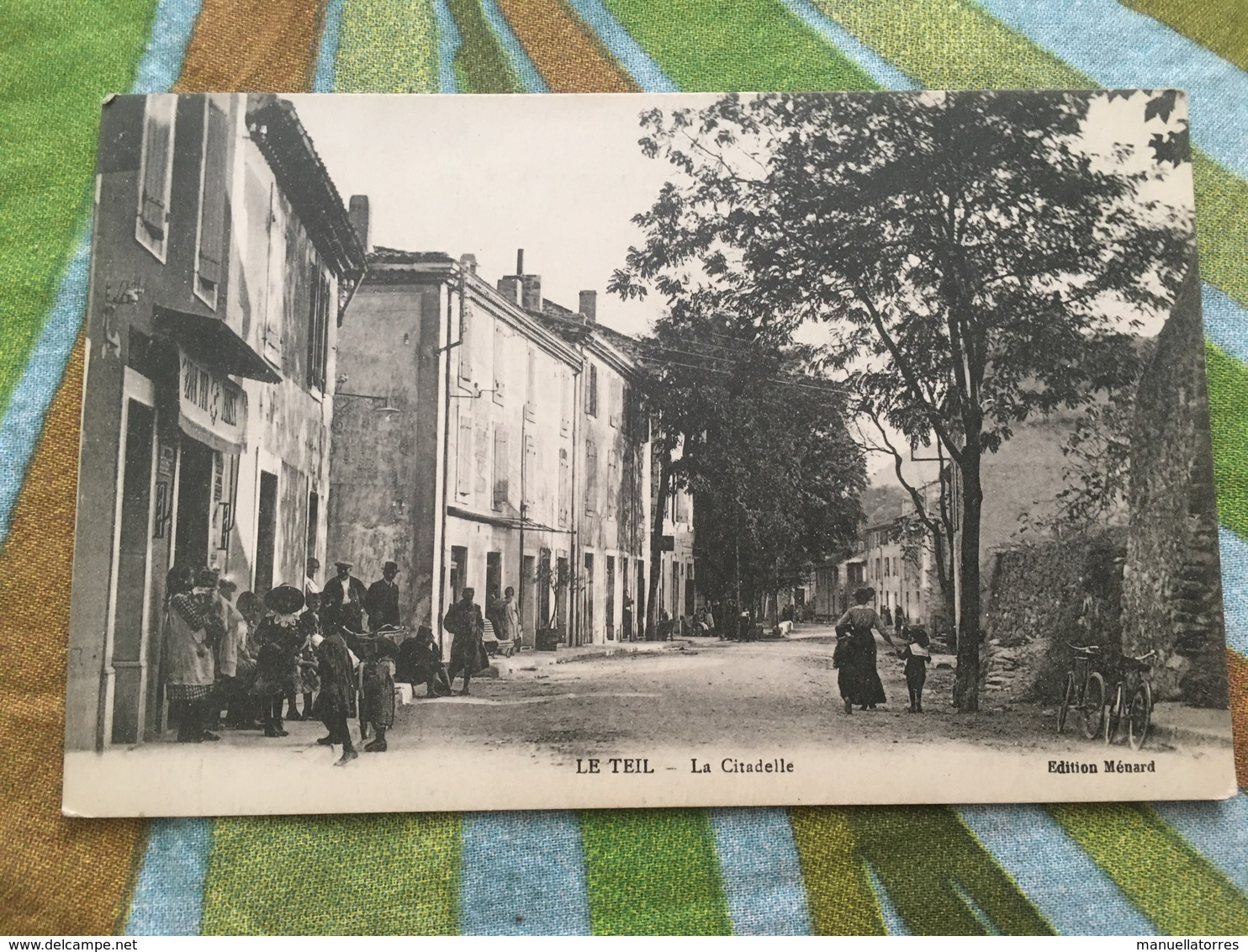 Ancienne Carte Postale Ardeche - Le Teil - Le Teil