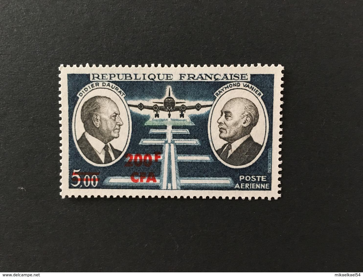 REUNION Poste Aérienne 1972 - YT N° 62 - Timbre Neuf Sans Charnière ** MNH - Réunion (1852-1975)