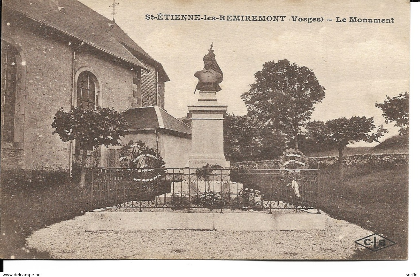 88 - Saint-Etienne-les-Remiremont - Le Monument - Saint Etienne De Remiremont
